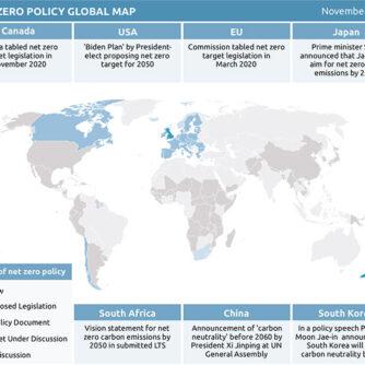 Перехід до кліматичної нейтральності: які країни беруть участь у перегонах