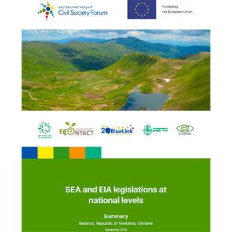 SEA and EIA legislations at national levels